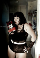 Model: Courtney Trouble, Photographer: Rae Threat